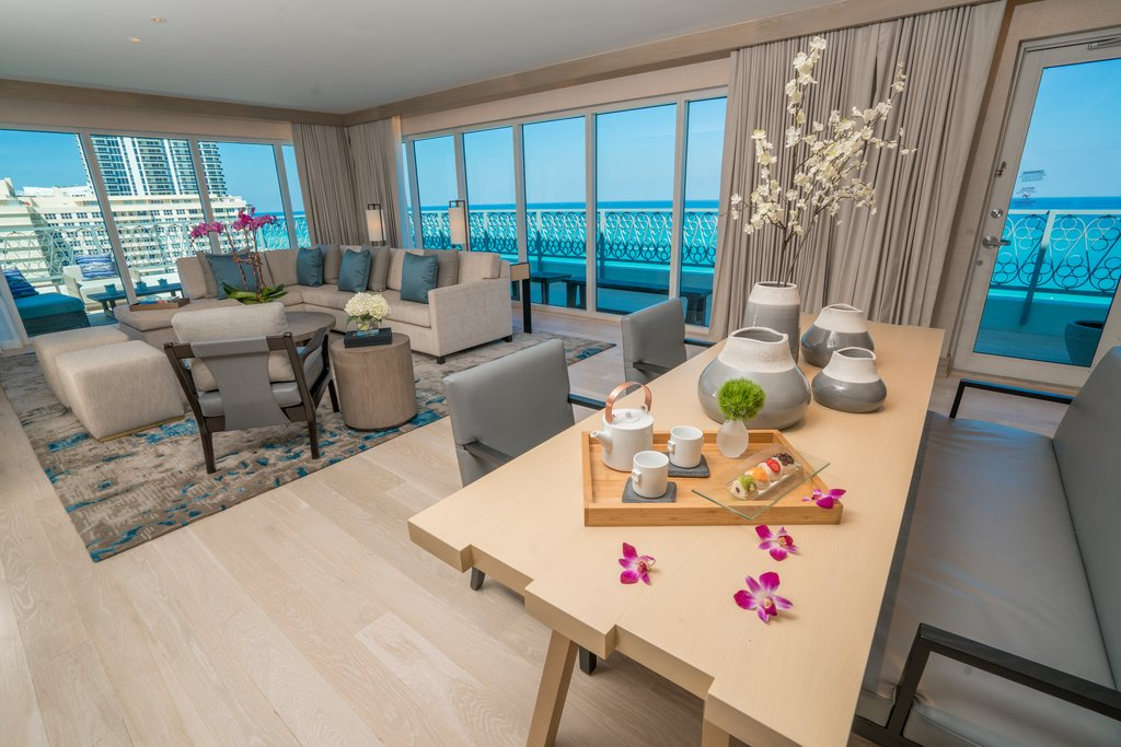 Nobu Hotel Miami Beach - Nobu Penthouse <br/>Image from Leonardo