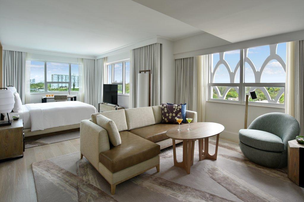 Nobu Hotel Miami Beach - Junior Suite Bay View  <br/>Image from Leonardo