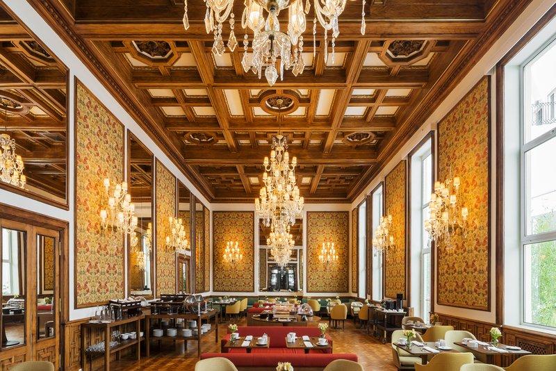 Hotel Infante Sagres-Beautiful Breakfast Room<br/>Image from Leonardo