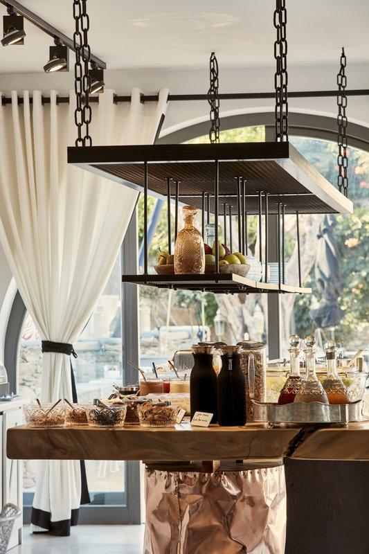 Poseidon Hotel-Greek Breakfast Buffet<br/>Image from Leonardo