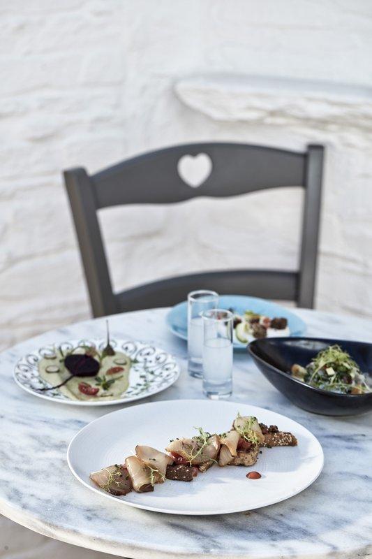Poseidon Hotel-Greek Style Snack<br/>Image from Leonardo