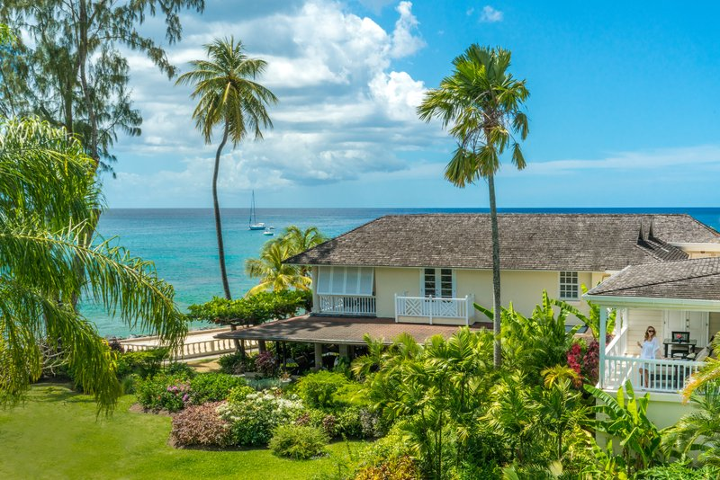 Coral Reef Club-View from Luxury Plantation Suite<br/>Image from Leonardo