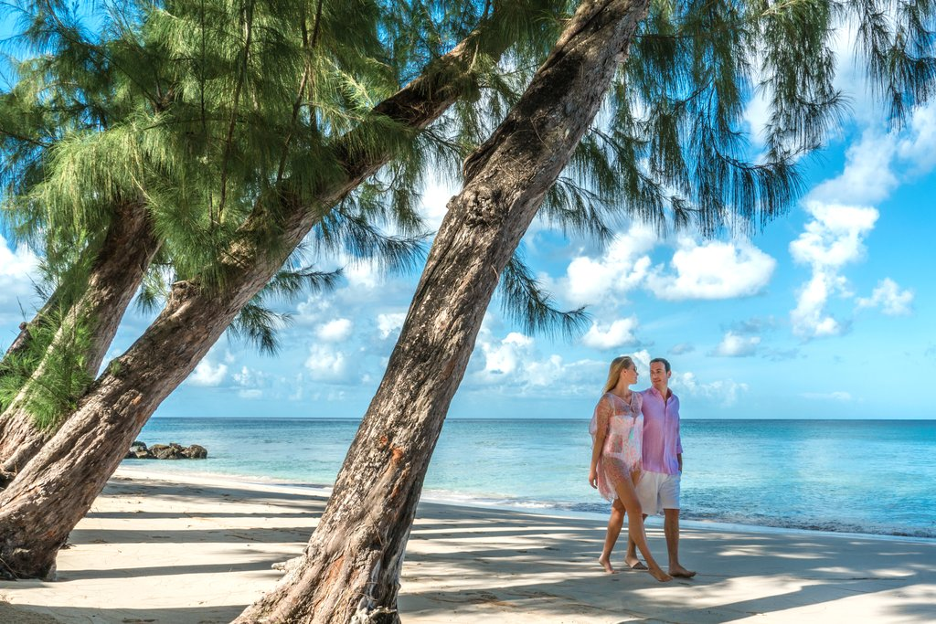 Coral Reef Club-Couple on the Beach<br/>Image from Leonardo