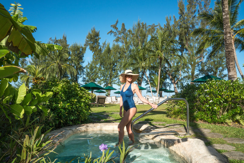 Coral Reef Club-Luxury Cottage Plunge Pool<br/>Image from Leonardo