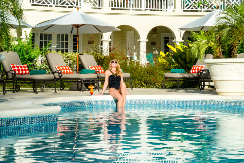 Coral Reef Club-Relaxing by the Pool<br/>Image from Leonardo