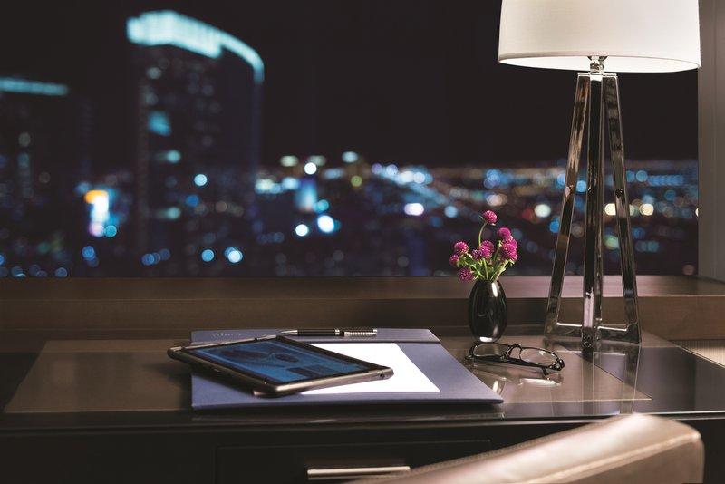 Vdara Hotel & Spa at Aria Las Vegas - Room Desk and Tablet <br/>Image from Leonardo