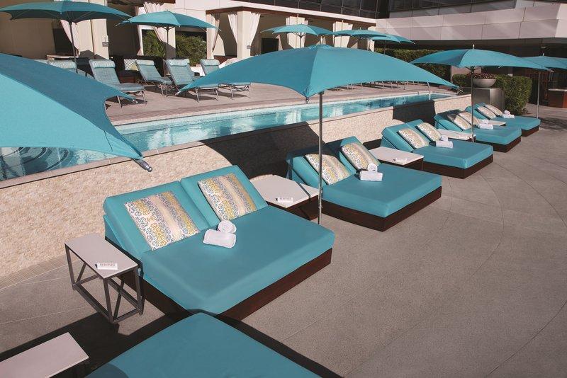 Vdara Hotel & Spa at Aria Las Vegas - Vdara Pool Daybeds <br/>Image from Leonardo