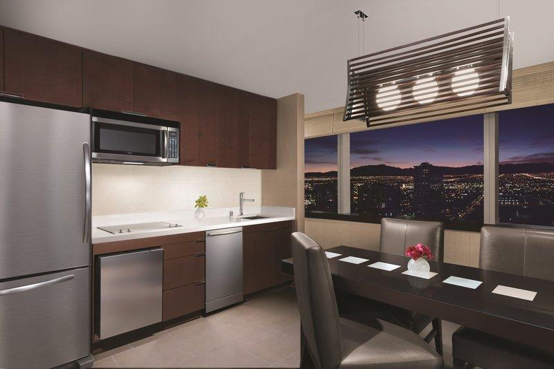 Vdara Hotel & Spa at Aria Las Vegas - Panoramic Suite Kitchen <br/>Image from Leonardo