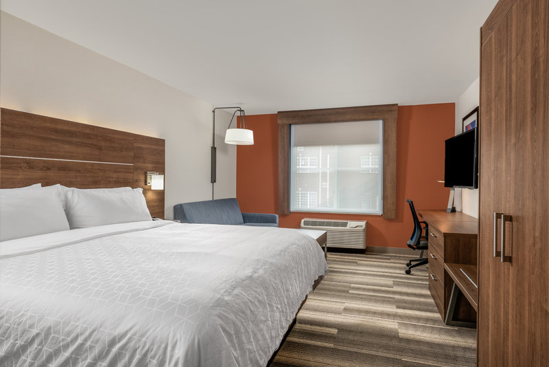 Holiday Inn Express Chapel Hill-Spacious standard king minutes from the Dean Dome!<br/>Image from Leonardo