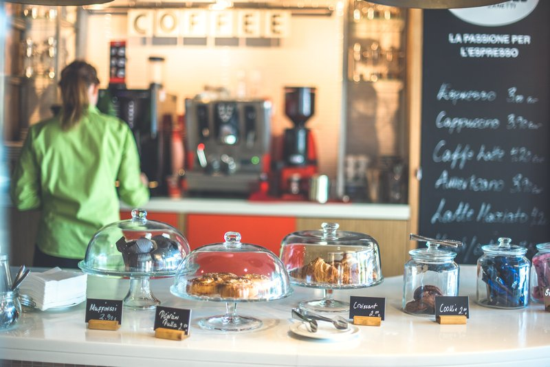 Holiday Inn Helsinki City Centre-Our To Go Cafe serves food and beverages all day<br/>Image from Leonardo
