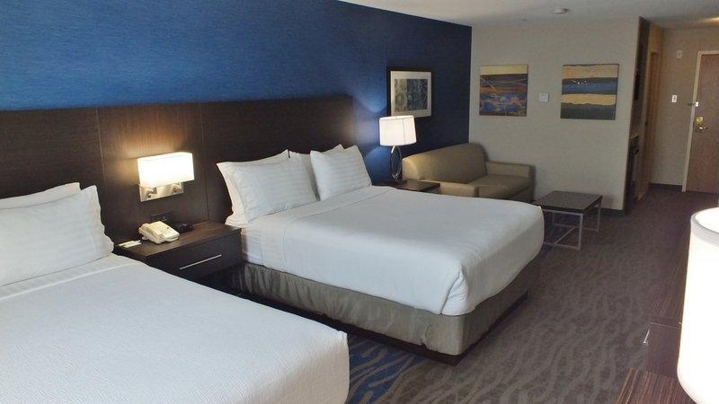 Holiday Inn Hotel & Suites Regina-Holiday Inn Regina Two Queen Bedroom with Sofa Bed.<br/>Image from Leonardo