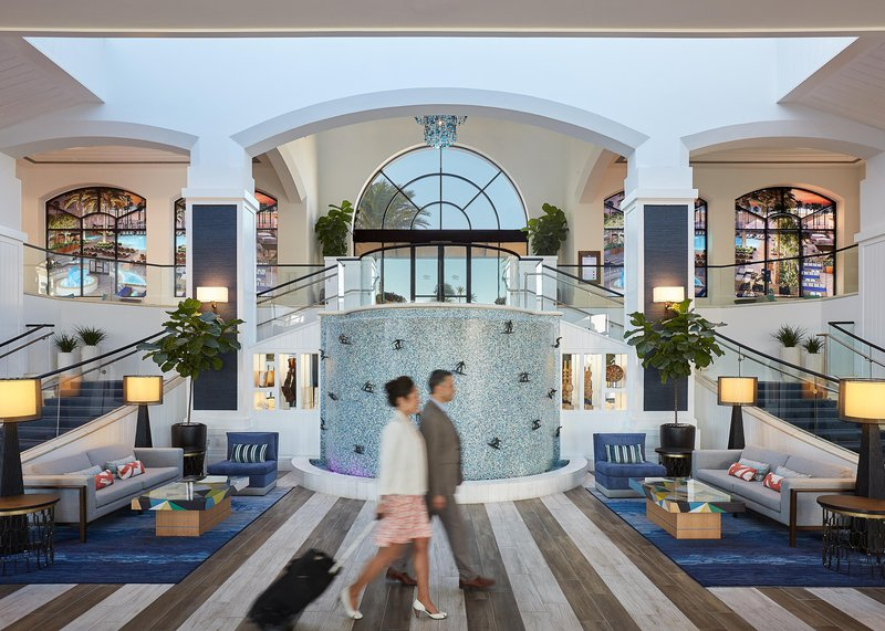 The Waterfront Beach Resort, A Hilton Hotel-Main Lobby Entrance<br/>Image from Leonardo