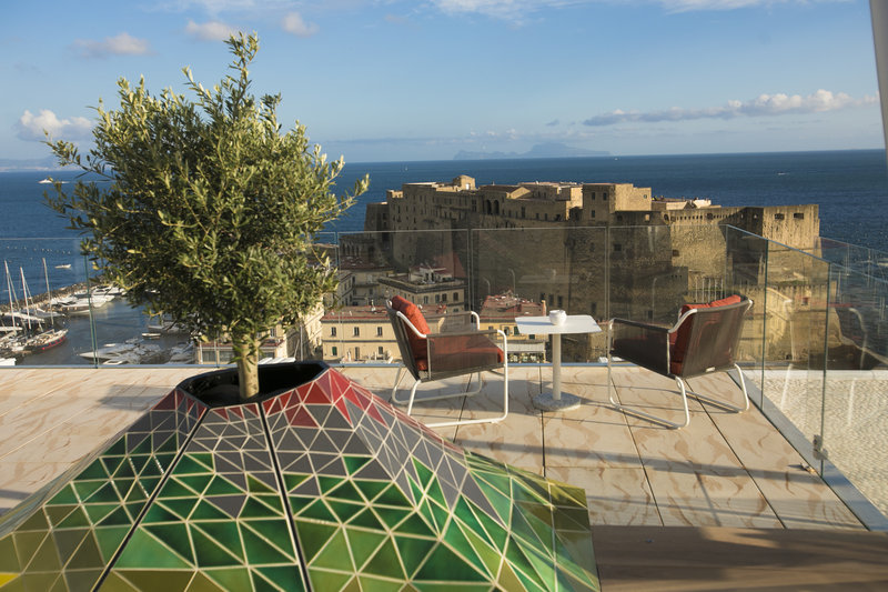 Grand Hotel Vesuvio Naples-Sky Lounge Solarium & Cocktail Bar<br/>Image from Leonardo