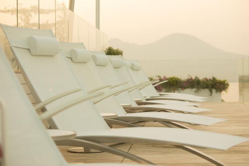 Grand Hotel Vesuvio Naples-sun deck @ Sky Lounge Solarium<br/>Image from Leonardo