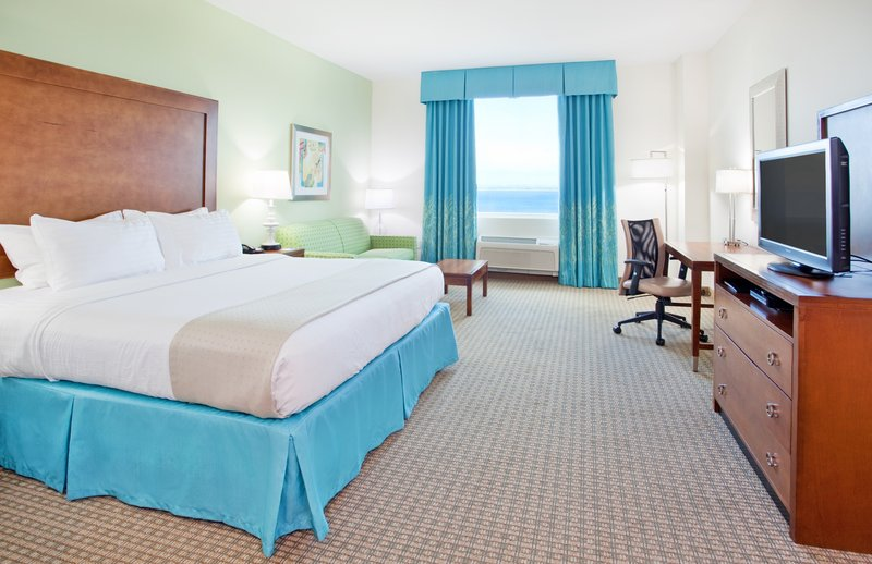 Holiday Inn Resort Pensacola Beach Gulf Front-Holiday Inn Resort Pensacola King Bed With Sleeper Sofa Bay View<br/>Image from Leonardo