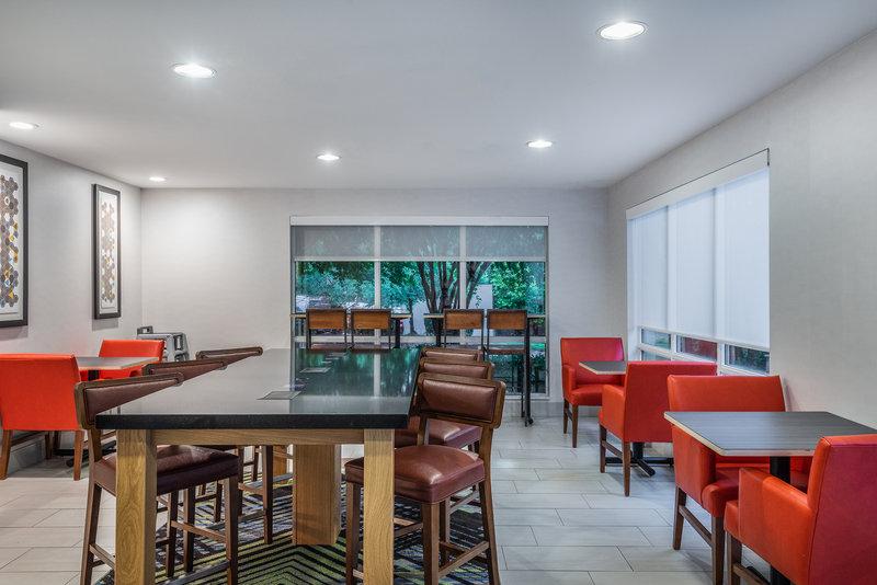 Holiday Inn Express Chapel Hill-Breakfast Bar <br/>Image from Leonardo