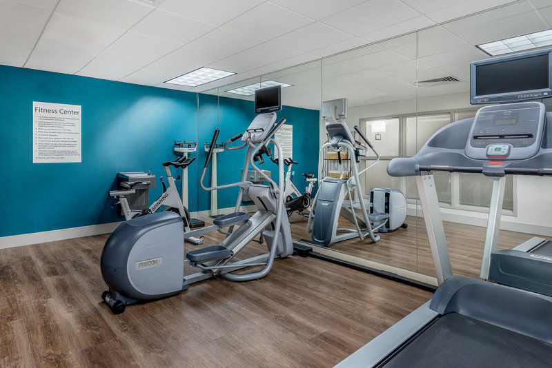 Holiday Inn Express Chapel Hill-Enjoy some cardio before heading to a UNC Football game!<br/>Image from Leonardo
