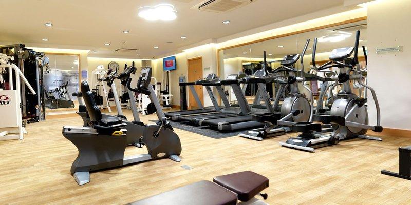 Crowne Plaza Nottingham-Fitness Center<br/>Image from Leonardo