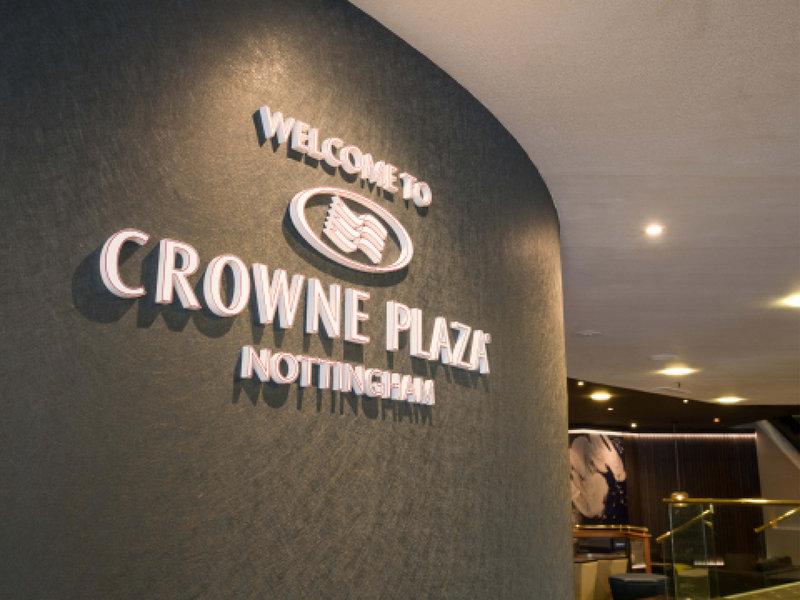 Crowne Plaza Nottingham-Entrance<br/>Image from Leonardo