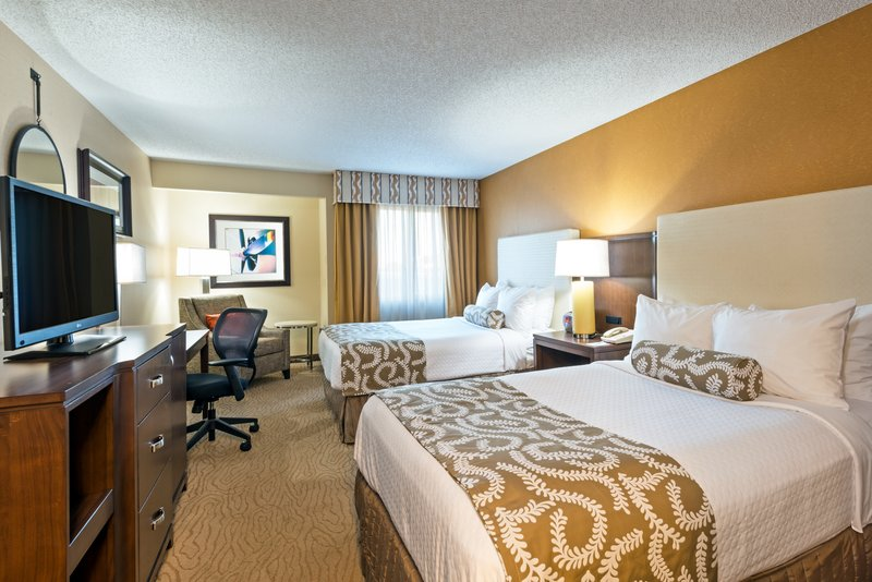 Crowne Plaza Dallas Galleria - Addison-Double Bed Room - Enjoy a great night's rest!<br/>Image from Leonardo
