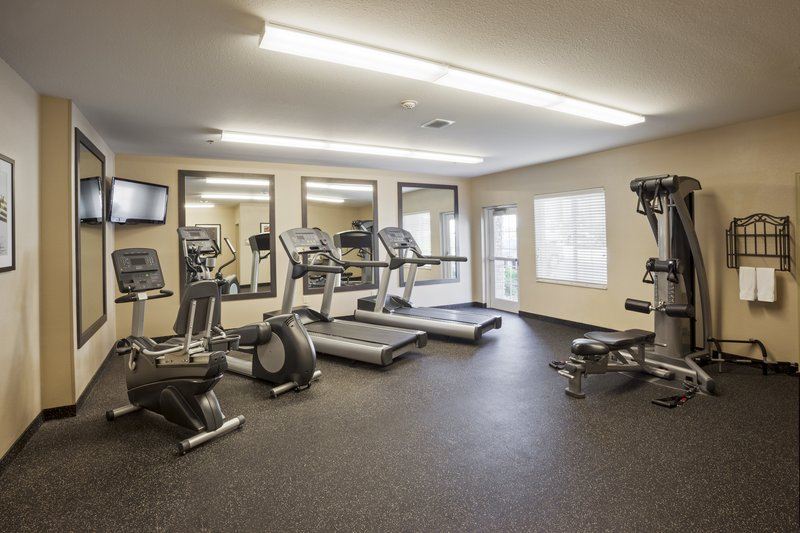 Candlewood Suites Santa Maria-Open 24/7 so you can stay on your fitness rountine when traveling<br/>Image from Leonardo