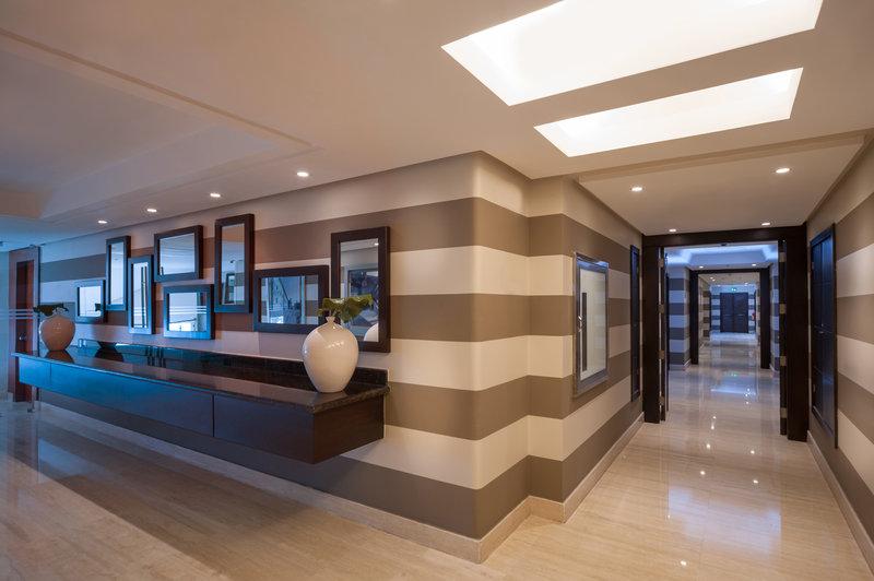 Crowne Plaza Santo Domingo-Hallway - 15th Floor<br/>Image from Leonardo