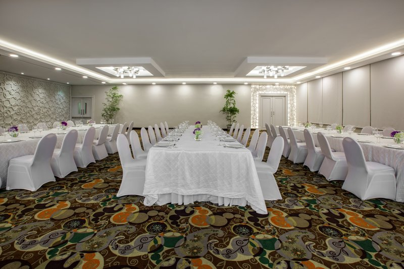 Crowne Plaza Santo Domingo-Hold your next social event in one of our Banquet room.<br/>Image from Leonardo