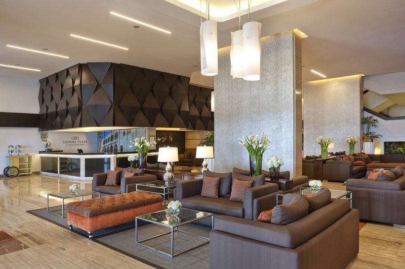 Crowne Plaza Santo Domingo-Beautiful view of the Lobby and Front Desk<br/>Image from Leonardo