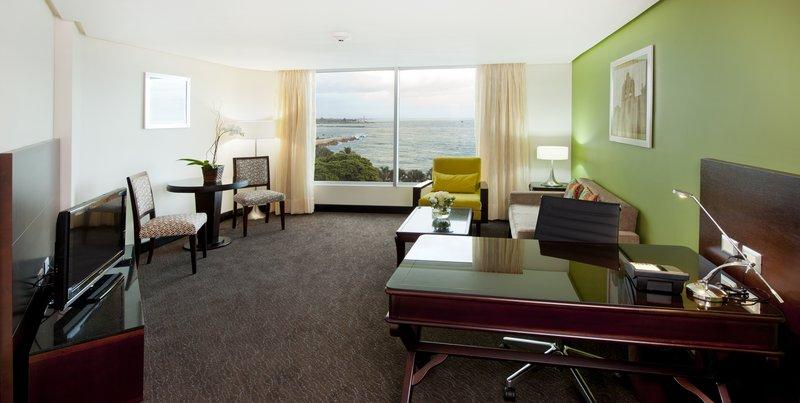Crowne Plaza Santo Domingo-Living Room - Deluxe Oceanview and Balcony Suite<br/>Image from Leonardo
