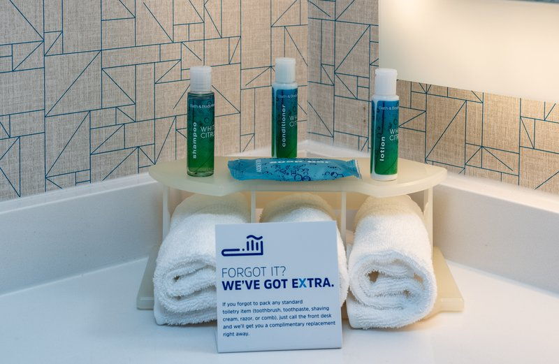 Holiday Inn Express Middletown/Newport-Bathroom Amenities<br/>Image from Leonardo