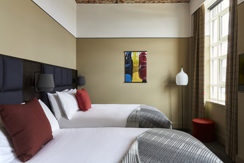 Hotel Indigo Dundee-Queen Bed Guest Room<br/>Image from Leonardo