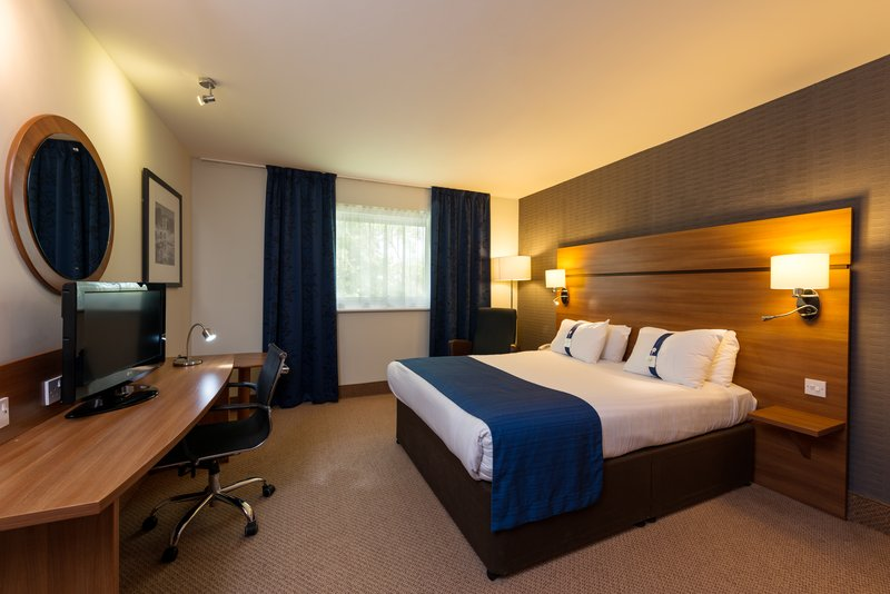 Holiday Inn Express Shrewsbury-Double Bed Guest Room<br/>Image from Leonardo