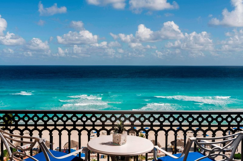 The Ritz-Carlton Cancun - Ocean Front Room - View <br/>Image from Leonardo