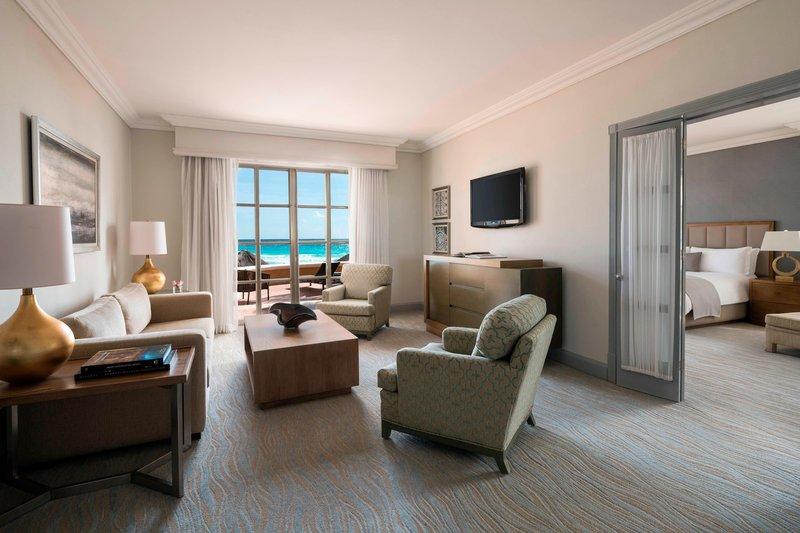 The Ritz-Carlton Cancun - Cobalt Residential Suite - Living Room <br/>Image from Leonardo