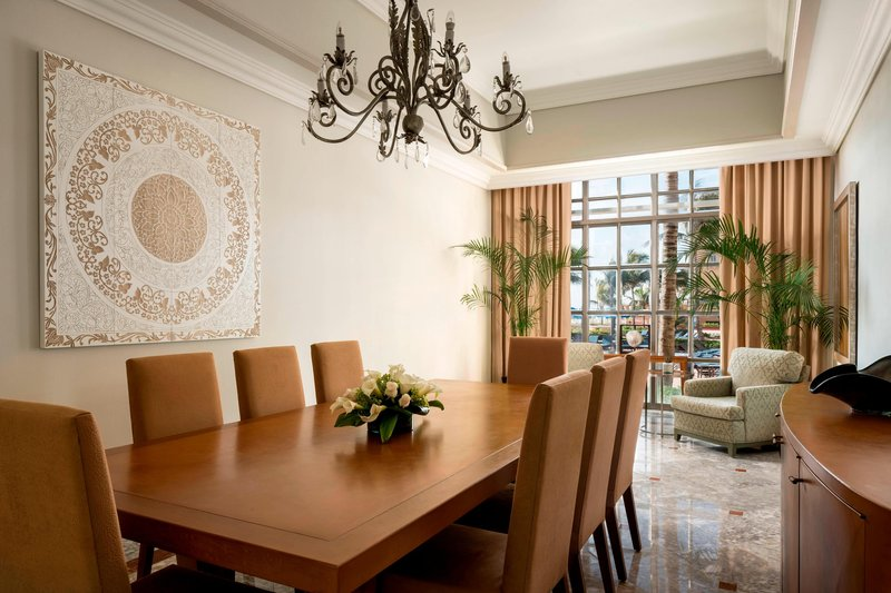 The Ritz-Carlton Cancun - Cobalt Residential Suite - Dining Room <br/>Image from Leonardo