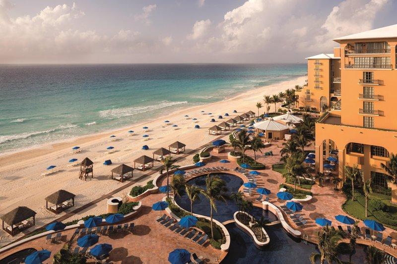The Ritz-Carlton Cancun - Beachfront Swimming Pool <br/>Image from Leonardo