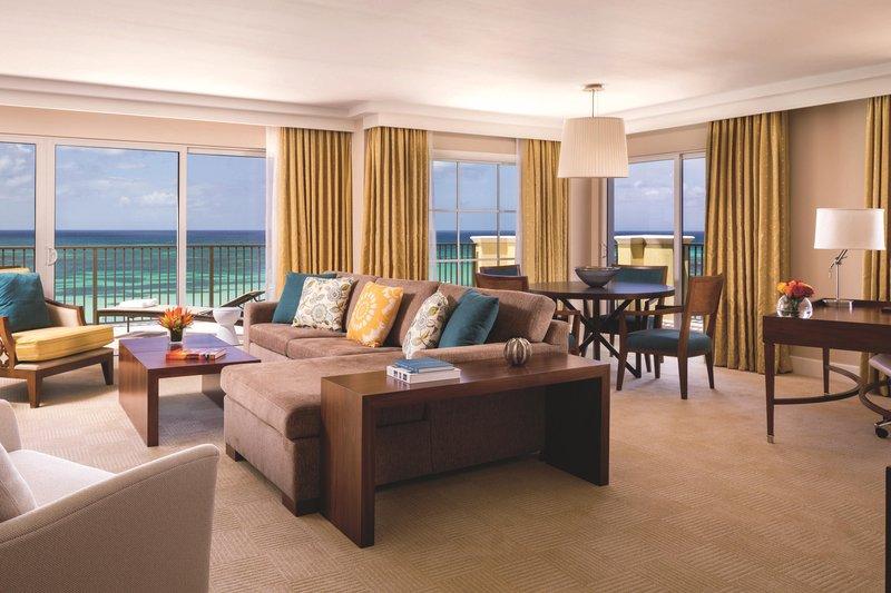 THE RITZ-CARLTON, ARUBA - Deluxe Suite - Living Room <br/>Image from Leonardo
