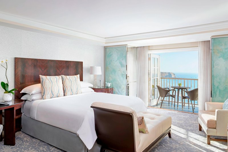 Ritz Carlton Laguna Niguel-Club Coastline View Guestroom<br/>Image from Leonardo