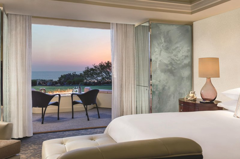 Ritz Carlton Laguna Niguel-Fireside Ocean View Guestroom<br/>Image from Leonardo