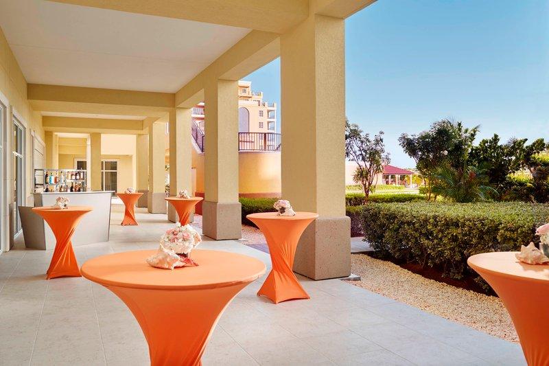 THE RITZ-CARLTON, ARUBA - Outdoor Cocktail Reception <br/>Image from Leonardo