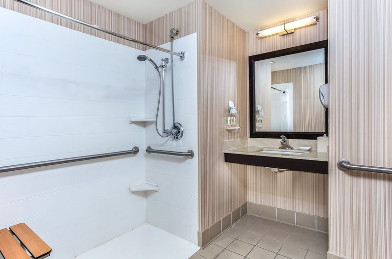 Holiday Inn Louisville Airport - Fair/Expo-ADA Guest Bathroom <br/>Image from Leonardo