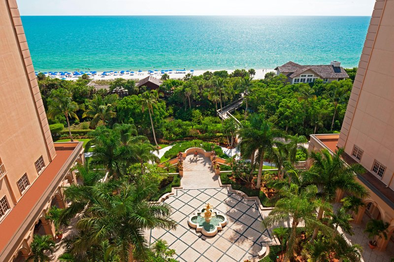 The Ritz-Carlton Naples - Gulf Front View <br/>Image from Leonardo