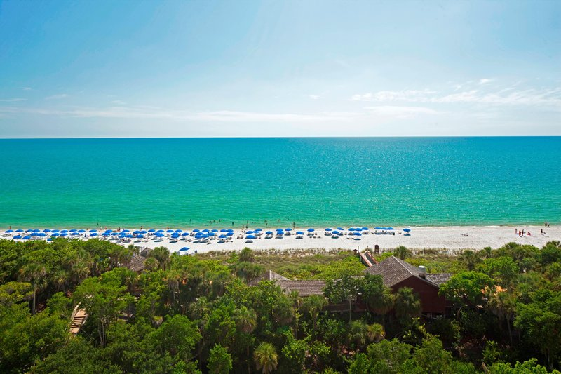 The Ritz-Carlton Naples - Beach Front View <br/>Image from Leonardo