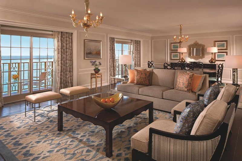 The Ritz-Carlton Naples - Presidential Suite Parlor <br/>Image from Leonardo