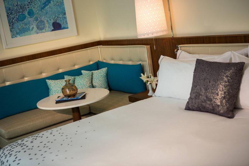 Renaissance Aruba Resort & Casino - Marina Hotel - King Guest Room Sitting Area <br/>Image from Leonardo