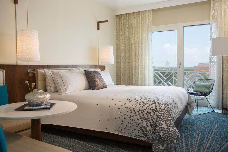 Renaissance Aruba Resort & Casino - Marina Hotel - King Guest Room - Island View <br/>Image from Leonardo