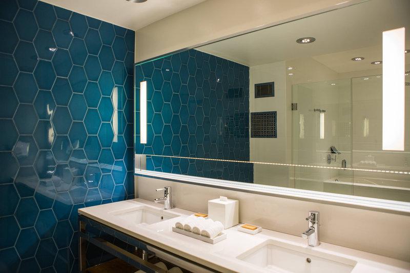 Renaissance Aruba Resort & Casino - Marina Hotel - Ambassador Suite Bathroom Vanity <br/>Image from Leonardo