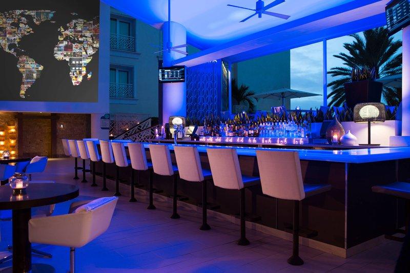 Renaissance Aruba Resort & Casino - BLUE Bar <br/>Image from Leonardo