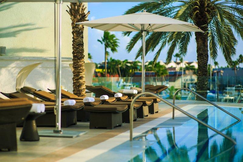 Renaissance Aruba Resort & Casino - Marina Outdoor Pool – Lounge Chairs <br/>Image from Leonardo