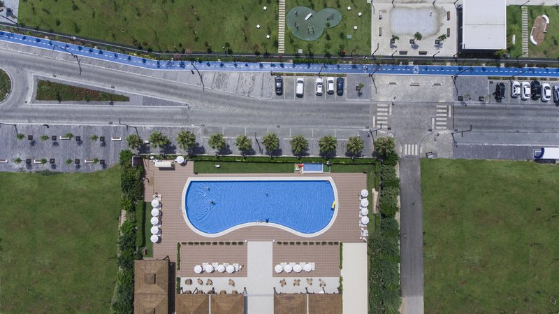 Crowne Plaza Antalya-Bird's eye view- Cycling Way & Running Way<br/>Image from Leonardo